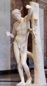 Apollo Sauroctonos Louvre